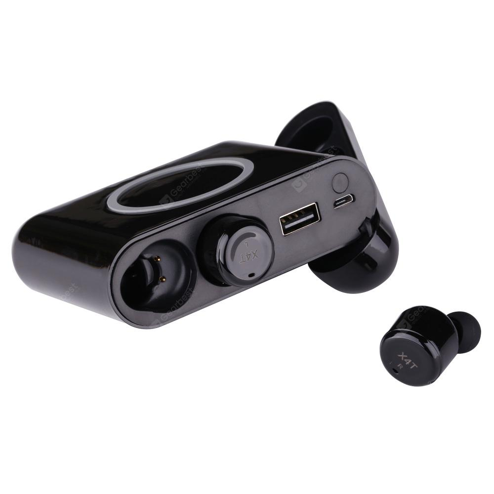X4T TWS Wireless Bluetooth Earbuds Sports Stereo Earphones