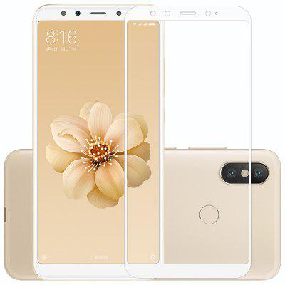 Luanke Full Tempered Glass para Xiaomi Mi 6X 2pcs