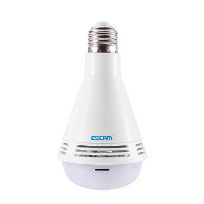 ESCAM QP137 WiFi IP Camera 360 Degree Panoramic LED Bulb