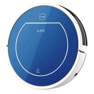 ILIFE V7 Super Mute Sweeping Robot Home Vacuum Cleaner Dust Cleaning with 2500mAh Li-ion Battery 6 pcs x hepa filter of ilife robot vacuum cleaner for ilife v3s v5 v5pro v5s cw310 replacement hepa robot vacuum cleaner parts