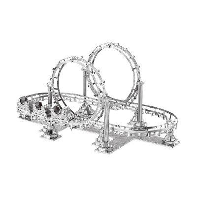 3D Metal Puzzle Roller Coaster