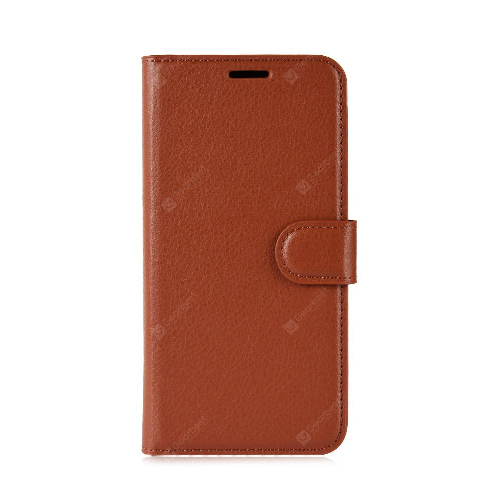 Lichee Pattern Flip Wallet Phone Case for Xiaomi Mi Mix 2S