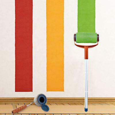 Room Wall Decor Handle Paint Roller Brush Set