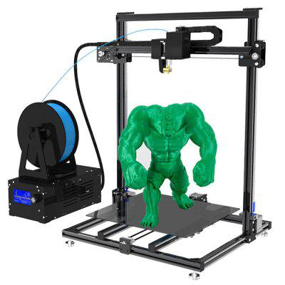 ADIMLab - gantry 3D Printer I3 Plus 310X310X410 3D Printing Size Partially Preassembled Heatbed With Glass PLA from Gearbest