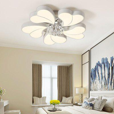 6932 Modern Heart Shape Crystal LED Ceiling Light 2017 acrylic modern led ceiling lights fixtures for living room lamparas de techo simplicity ceiling lamp home decoration
