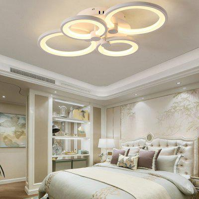 7068 Modern Overlapping Circle Shape LED Ceiling Light 2017 acrylic modern led ceiling lights fixtures for living room lamparas de techo simplicity ceiling lamp home decoration
