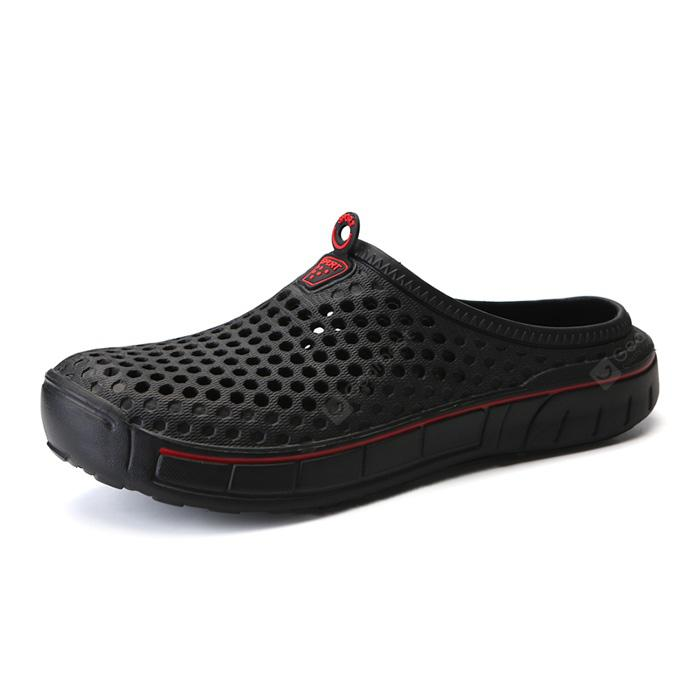 Fashion Beach Breathable Mesh Hole Slippers