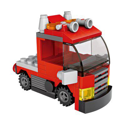 LOZ Building Blocks Mini Truck Head Model Intelligence Toy kazi building blocks military tank model building blocks 548 pcs boys