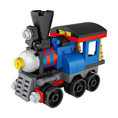 LOZ Building Blocks Mini Train Model Intelligence Toy Gift in stock lepin 18008 my world series village zombie model building blocks bricks model toys for children gift compatible 21128