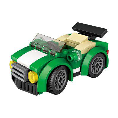LOZ Building Blocks ABS Mini Sports Car Model Toy Gift in stock lepin 18008 my world series village zombie model building blocks bricks model toys for children gift compatible 21128