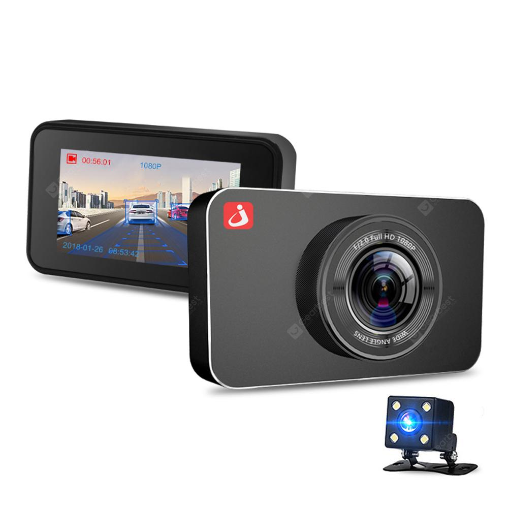 junsun H9 ADAS Car DVR Camera Full HD 1080P Dual Lens