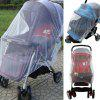 Baby Stroller All Cover Soft Durable Insect Shield Mosquito Net - WHITE