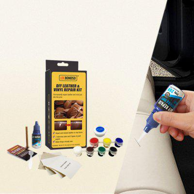 LOCBONDSO DIY Automotive Car Seat Leather Vinyl Repair Kit