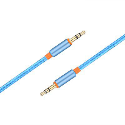 3.5mm Metal Braided Male to Male Audio Cable