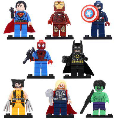 Hero Shape Building Block Educational Decoration Toy