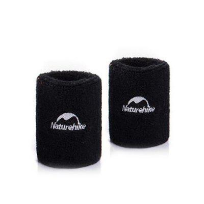 NatureHike Elastic Anti-slip Sports Wrist Support Bracer 2PCS