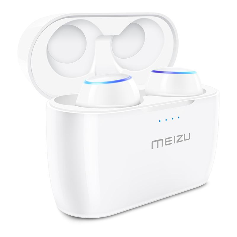 Gearbest MEIZU POP True Wireless Bluetooth Earphones In-ear Earbuds - WHITE