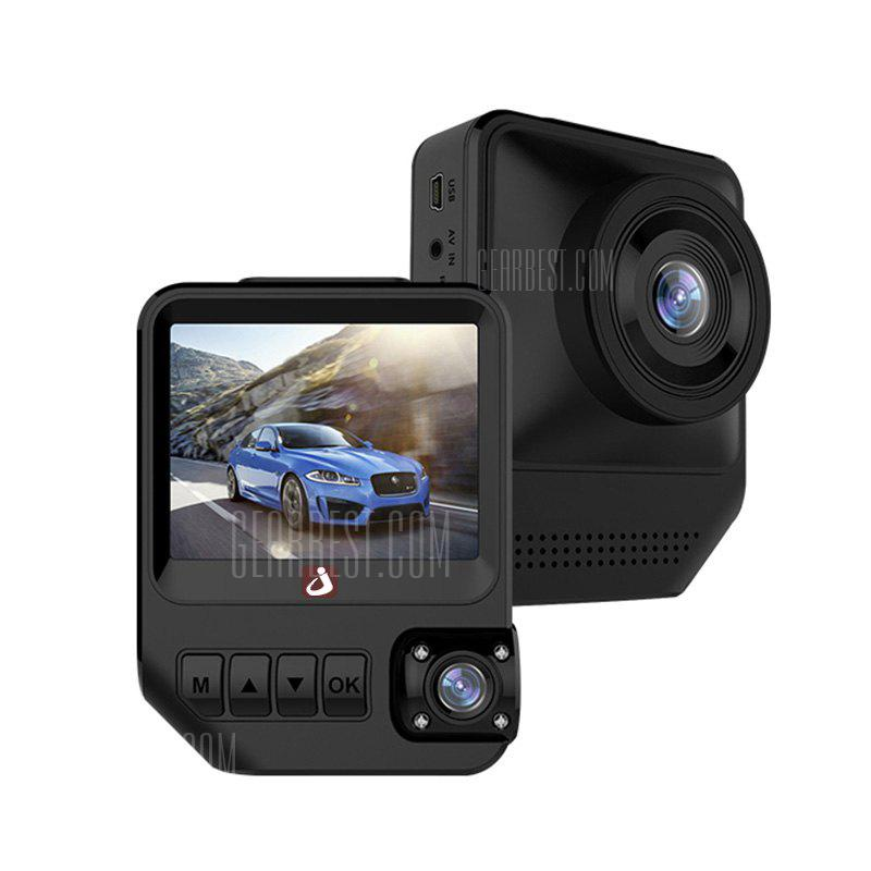 Image result for junsun Q2 2.31 inch Dual Lens Car DVR Camera 1080P Dashcam
