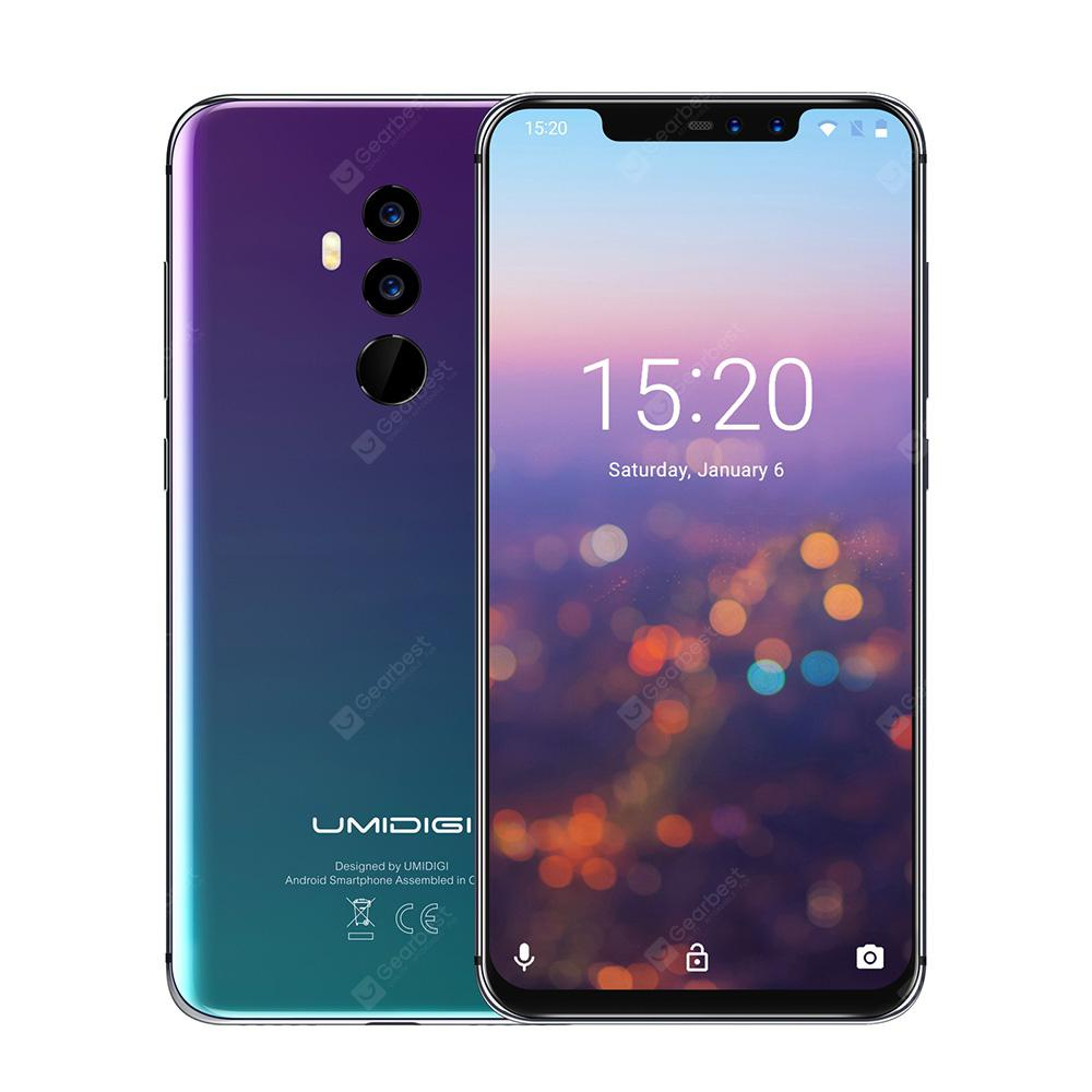 Bons Plans Gearbest Amazon - UMIDIGI Z2 6GB + 64Go TWILIGHT