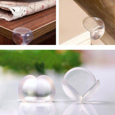 Thick Transparent Baby Corner Protector Ball 10 Pcs