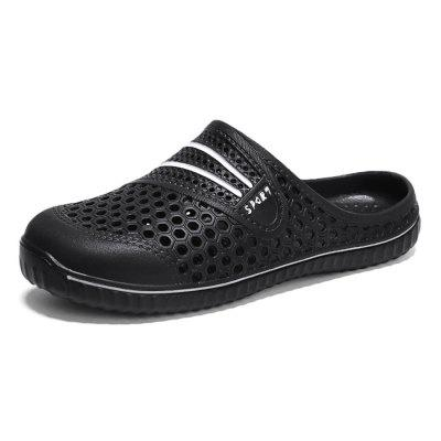 Men Trendy Summer Anti-slip Hollow Slippers