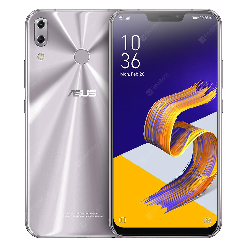 ASUS zenfone 5Z 4G Phablet Global Version - SILVER 6+64GB
