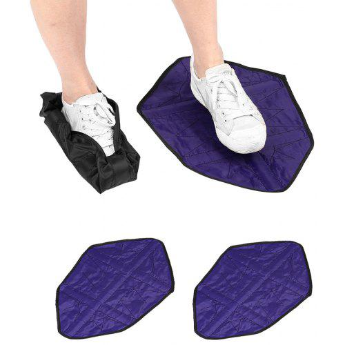 5pcs Reusable Hands Free Shoe Cover Portable Automatic Step Boot Shoe Covers