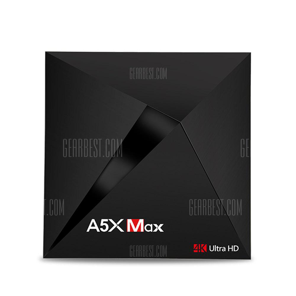A5X MAX Android 8.1 TV Box