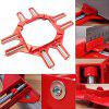 90 Degree Right Angle Clip Glass Fish Tank Fix Clamps 1pc - RED