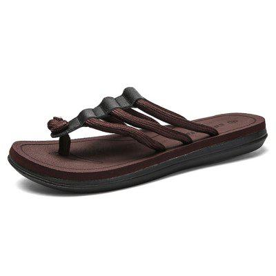 Male Flip-Flops Light Weight Non-Slip Beach Slippers толстовка кенгуру quiksilver comfortplacehoo light grey heather
