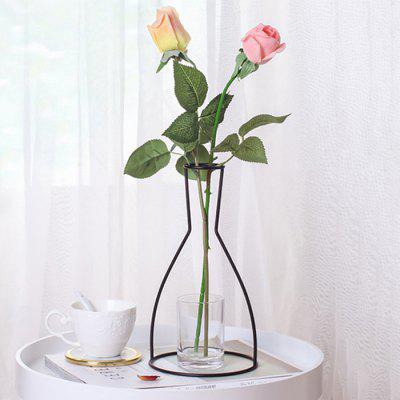 Vase en fer de style occidental minimalisme