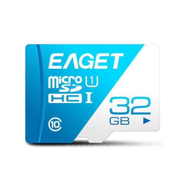 EAGET T1 TF Card Class 10 80MB/s 32GB - ROYAL BLUE 32G
