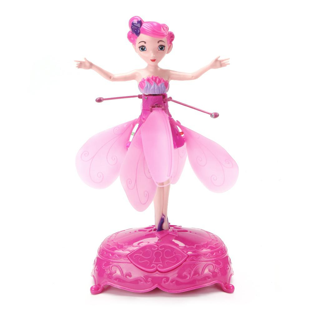 Inductive Flying Fairy Toy - PINK