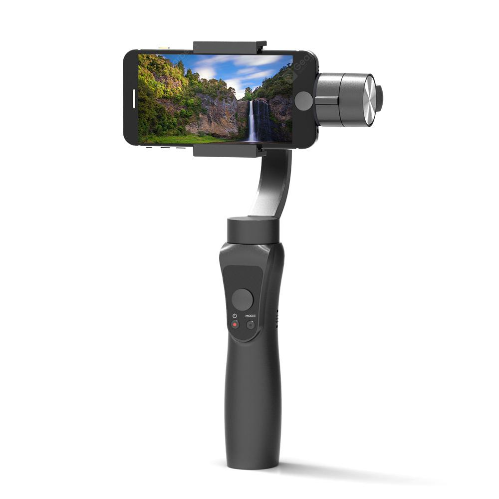 HS - S5 3-axis Handheld Bluetooth Gimbal Stabilizer - Black