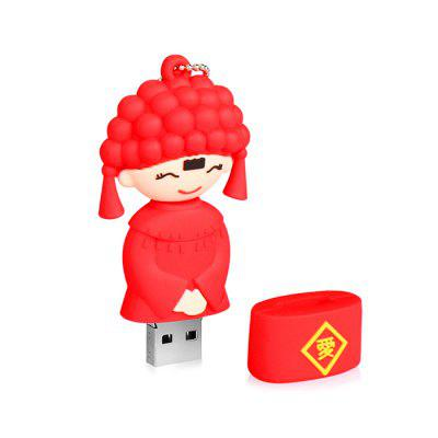 Portable Bride Shape USB2.0 Flash Drive U Disk