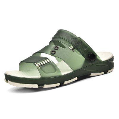 Men Leisure Anti-slip Hollow-out Dual-use Sandals