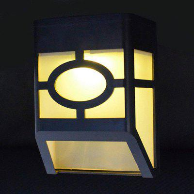Waterproof Solar Wall Lamp for Outdoors 1PC