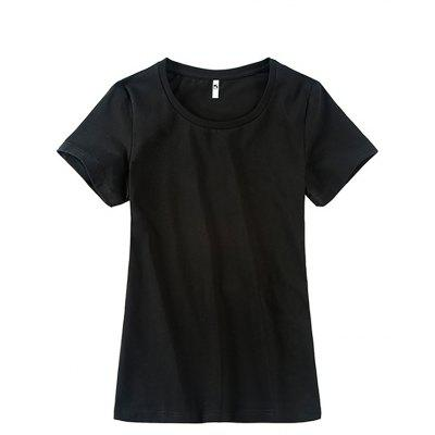 GEORGE TOMMY Women Non-deformed Round Neck T-shirt