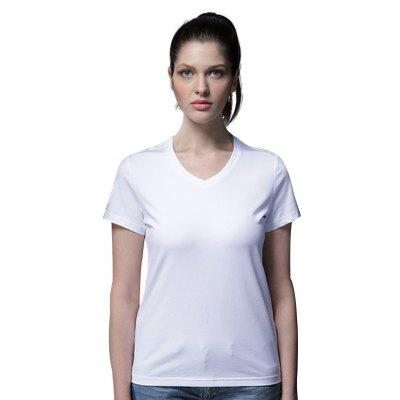 GEORGE TOMMY Women Non-deformed V-neck T-shirt