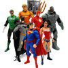 Movable Plastic Animation Character Model Toy 7PCS - MULTI