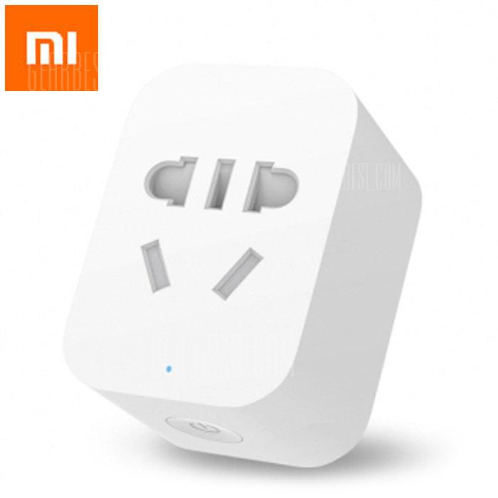 Original Xiaomi Mi Smart WiFi Remote Control Gateway Upgrade - WHITE XIAOMI SOCKET