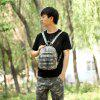 Durable Leisure Backpack for Men - WOODLAND CAMOUFLAGE