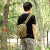 Durable Leisure Backpack for Men - EXéRCITO VERDE