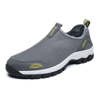 Male Breathable Outdoor Casual Hollow-out Shoes