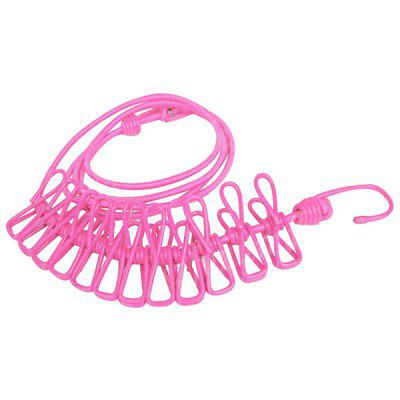 Travel Portable Laundry Clothes Clip Hang Rope