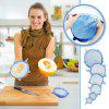 Silicone Stretch Lids 6pcs / Pack - BLUE
