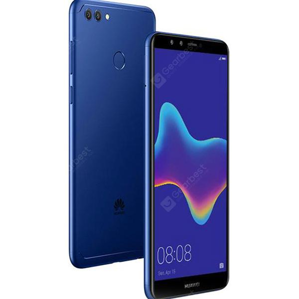 HUAWEI Y9 2018 4G Phablet Global Version - BLUE   3+32Go