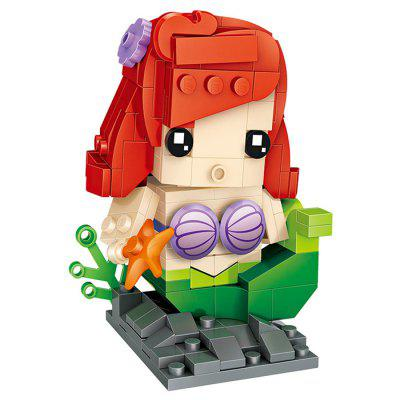 LOZ Q Version Cartoon Figure Mini Building Block Toy