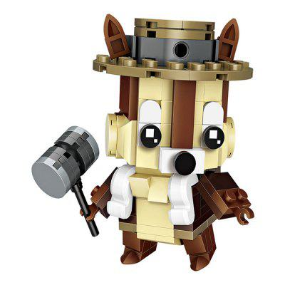 LOZ Steel Teeth Squirrel Mini Building Block Toys