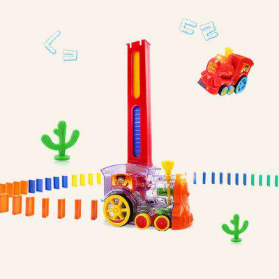 Domino Train Toy Car Truck Vehicle 60szt